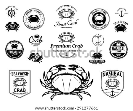 Crab Logo Stock Images, Royalty-Free Images & Vectors