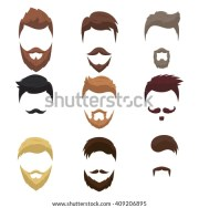 hairstyle stock royalty-free