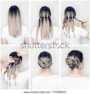 elegant updo much braids hairstyle
