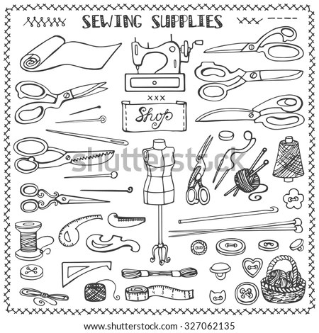 Craft Supplies Stock Images, Royalty-Free Images & Vectors