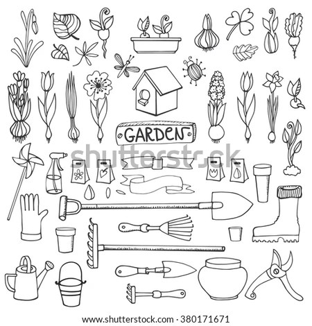 Garden Hand Plow Coloring Pages Sketch Coloring Page