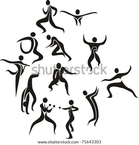 Male Body Silhouette Stock Images, Royalty-Free Images
