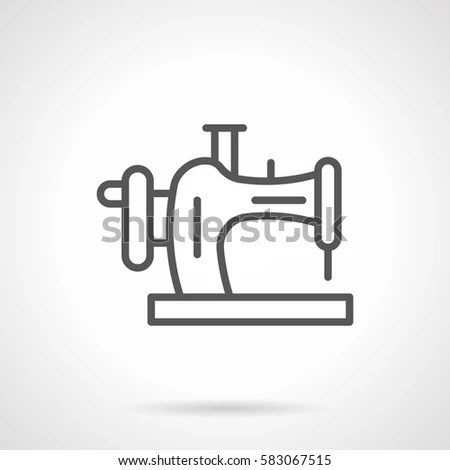 Sewing Machine Icon Stock Images, Royalty-Free Images
