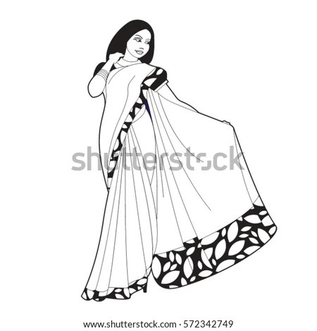 Saree Stock Images, Royalty-Free Images & Vectors