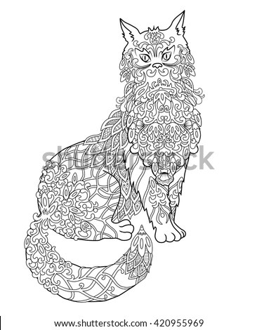 Silhouette Pens Coloring Pages