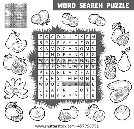 Word Search Puzzle Stock Images, Royalty-Free Images
