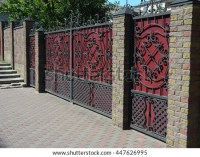 Brick Fence Stock Images, Royalty-Free Images & Vectors ...