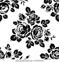 Floral Silhouette Stock Images, Royalty-Free Images ...