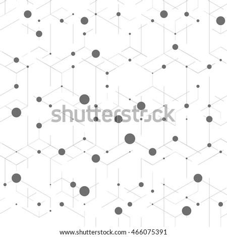 Vector Seamless Pattern Decoration Design Astronomy Stock