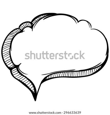 Simple Hand Drawing Heart Shape Padlock Stock Vector