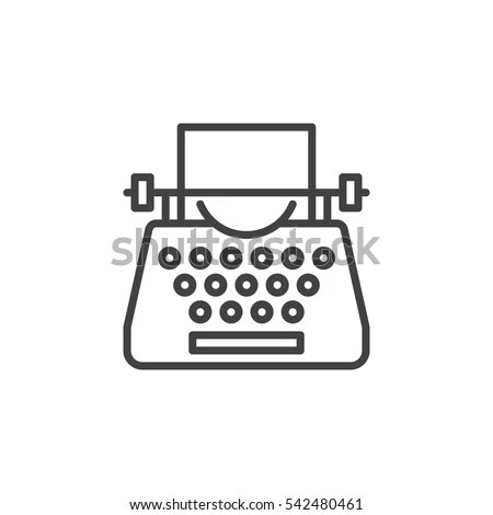 Typewriter Stock Photos, Royalty-Free Images & Vectors