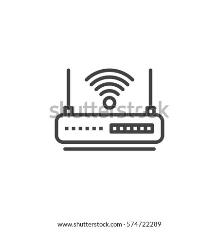 Wireless Router Symbol Printer Symbol Wiring Diagram ~ Odicis