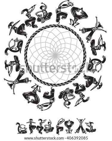 Tribal Dance Stock Images, Royalty-Free Images & Vectors