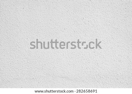 White Cement Plaster Wall Background Stock Photo 336847580