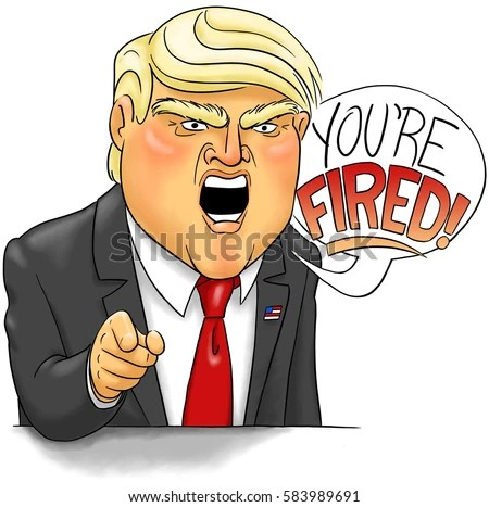 On TV, Trump loved to say 'You're fired.' In real life, he leaves the dirty work to others.