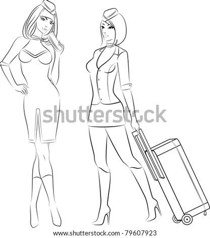 Flight Attendant Uniform Stock Images, Royalty-Free Images