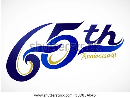 65th birthday stock vectors & vector