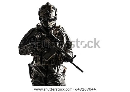 Pubg Logo Clear 1920x1080 Wallpaper Army Soldier Protective Combat Uniform Holding Stock Photo