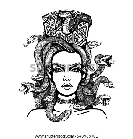 Gorgon Medusa Stock Images, Royalty-Free Images & Vectors