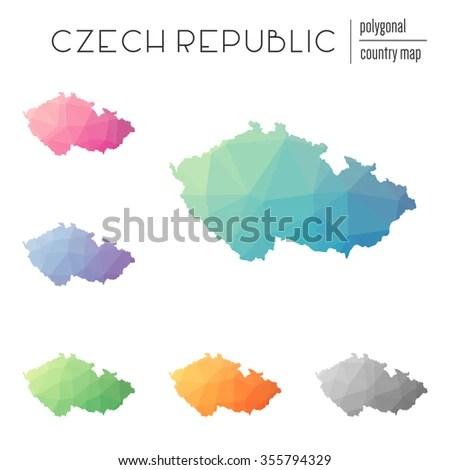 Czech Republic Map Stock Images RoyaltyFree Images