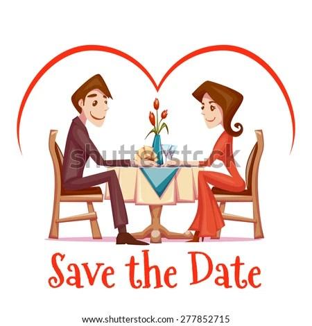 romantic dinner stock vectors &