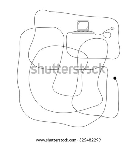 Retail Box Blueprint Template Stock Vector 374759452
