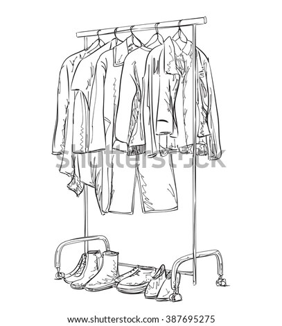 Hanging Clothes Stock Photos, Royalty-Free Images