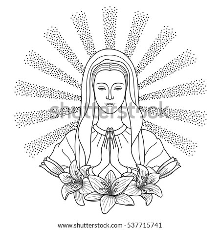 Virgin Mary Tattoo Stock Images, Royalty-Free Images