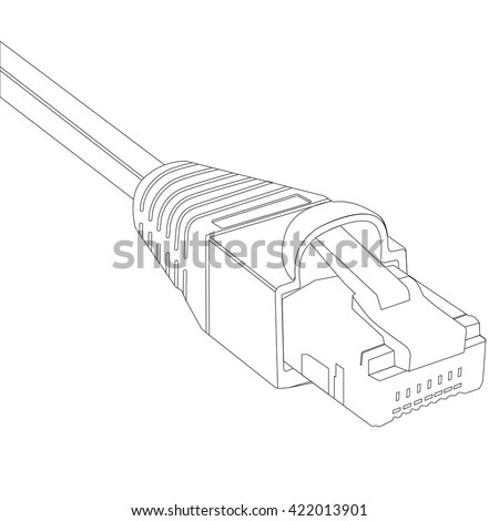 Rj45 Stock Photos, Royalty-Free Images & Vectors