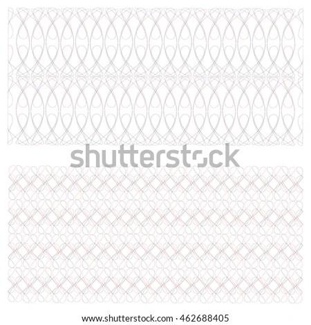 Net Pattern Rope Net Vector Silhouette Stock Vector