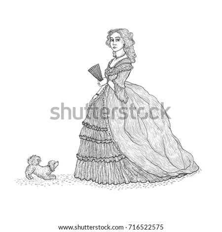 18th Century Dress Stock Images, Royalty-Free Images