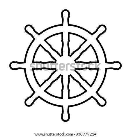 Steering Wheel Navigation Transportation Wheel Wiring