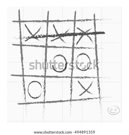 Tic-tac-toe Stock Images, Royalty-Free Images & Vectors