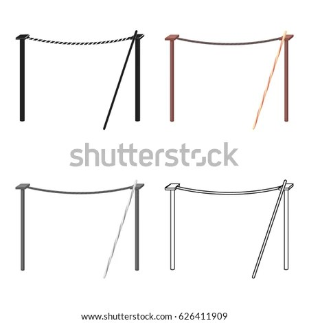 Tightrope Stock Images, Royalty-Free Images & Vectors