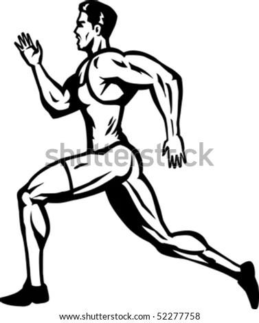 Handsome Man Flexible Woman Dance Modern Stock Vector