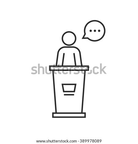 Lecture Podium Stock Images, Royalty-Free Images & Vectors