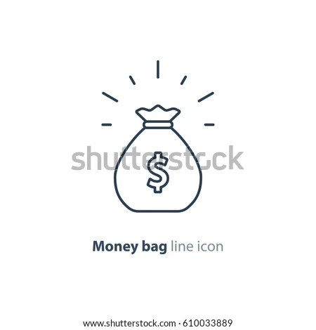 Money Bag Stock Images, Royalty-Free Images & Vectors