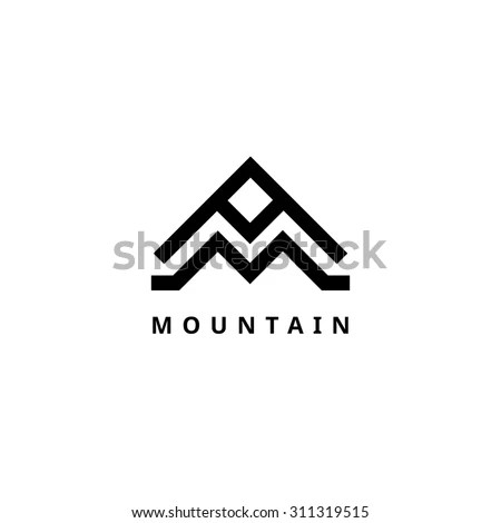 Mountain Logo Stock Photos, Royalty-Free Images & Vectors