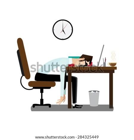 tiredness stock vectors & vector
