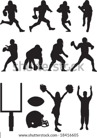 Cheerleader Silhouette Stock Images, Royalty-Free Images