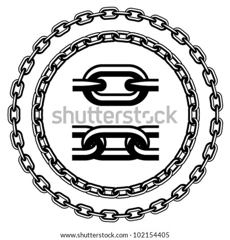 Chain Link Fence Texture Stock Vector Illustration Of