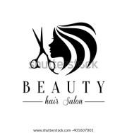 salon logo stock royalty-free
