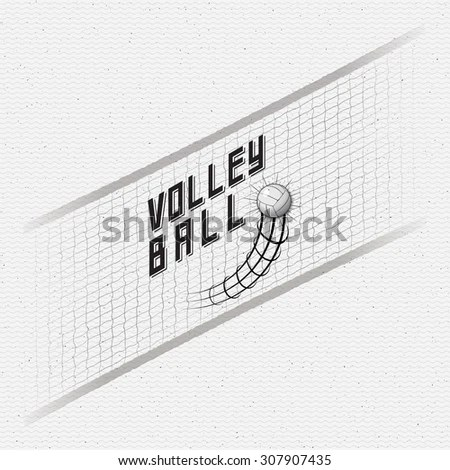 Volleyball label Stock Photos, Images, & Pictures