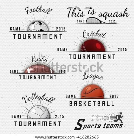 Cricket Logo Stock Photos, Royalty-Free Images & Vectors