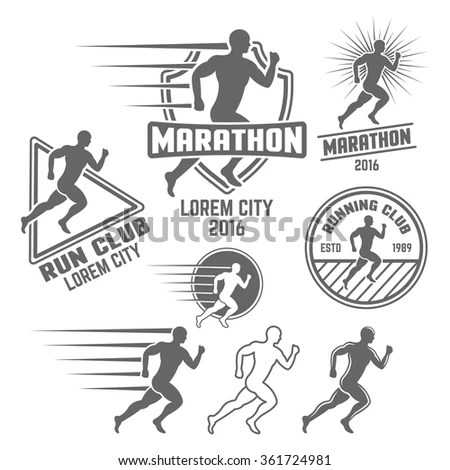 Runner Logo Stock Images, Royalty-Free Images & Vectors