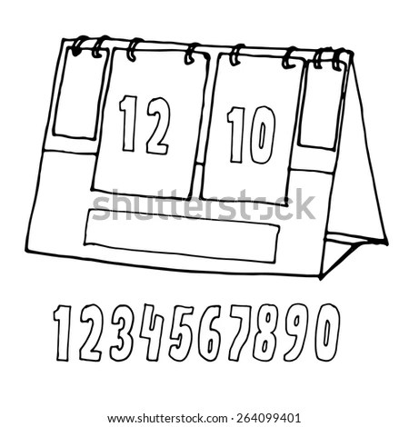 Manual Scoreboard Stock Images, Royalty-Free Images