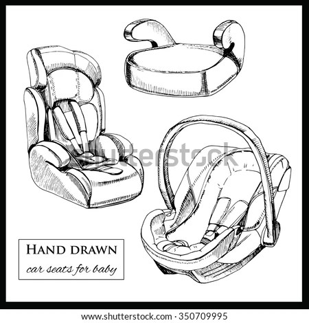 Baby Seat Stock Photos, Royalty-Free Images & Vectors