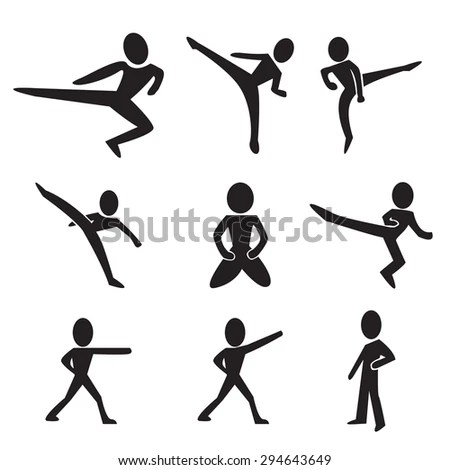 Taekwondo Kick Stock Images, Royalty-Free Images & Vectors