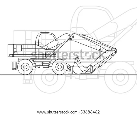 Steam Shovel Stock Images, Royalty-Free Images & Vectors