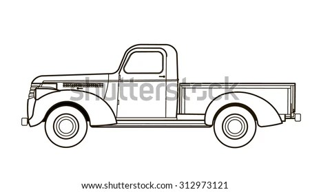 Hummer H1 4wd Utility Vehicle Stock Vector 846961